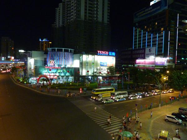 厦门.夜景.火车站附近