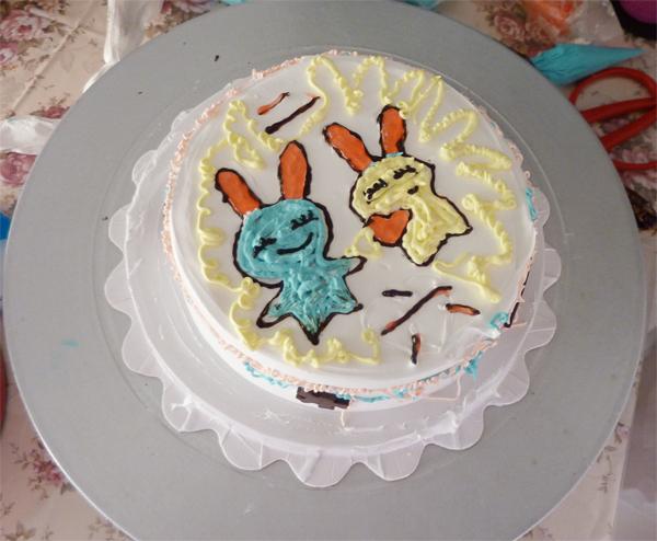 蛋糕DIY