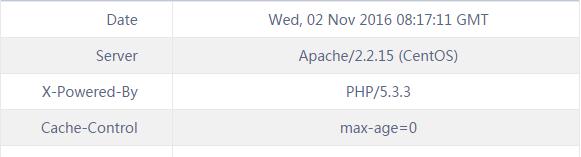 隐藏Apache信息
