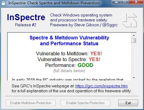 inspectre,熔断Meltdown和幽灵Spectre漏洞检测工具