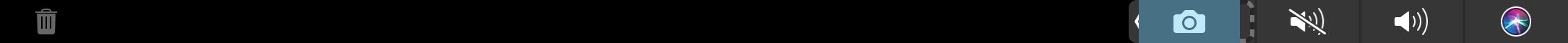 touchbar自定义快捷键